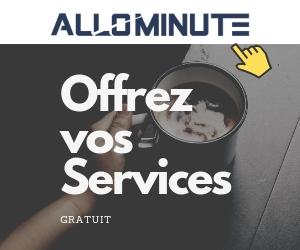 AlloMinute plateforme de mise en relation entre freelances et sociétés