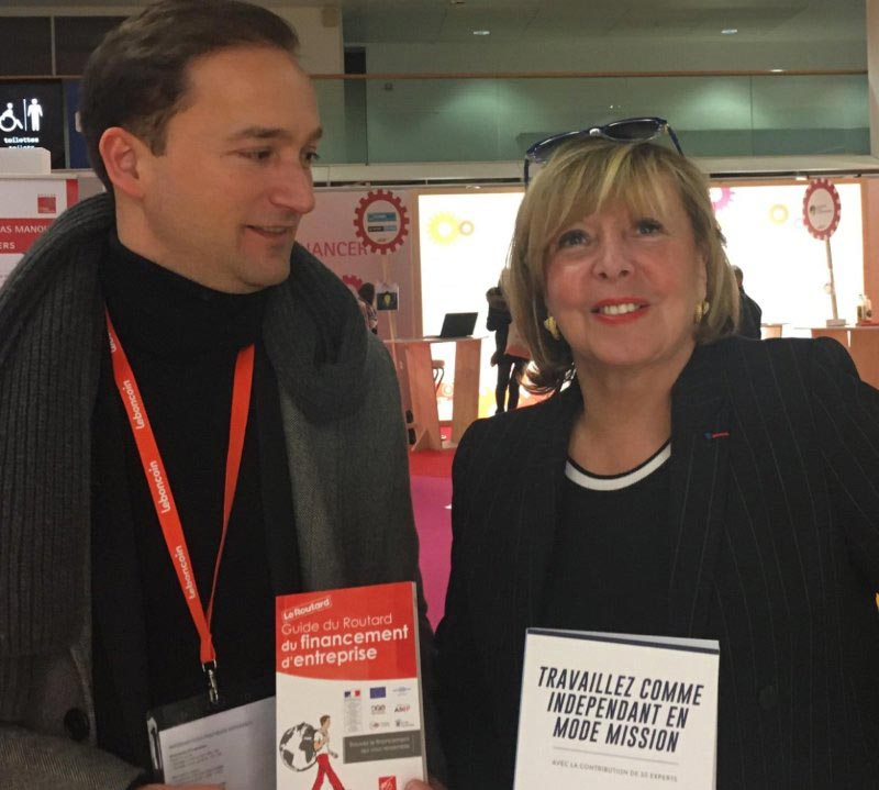 Lancement du livre au salon des entrepreneurs paris 2017 for Salon de paris 2017